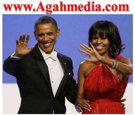 AgahMedia.Com_Sitesinin_Resim_Albomundan_Barack_Obama_ve_Michelle_Obama
